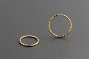Halo. Wedding bands