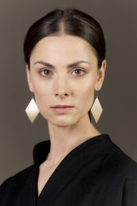 Earrings from the series Hunt
