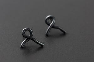 Felix. Silver earrings